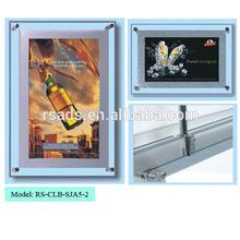 Led square acrylic photo frame light frame