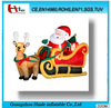Inflatable santa ride ,inflatable christmas products