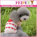 de la mano adorable suéter de punto para mascotas ropa para perros libre patrón que hace punto
