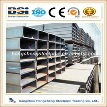 Hot rolled sch160 galvanized steel pipe balcony railing tube size