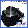 OEM suzuki gs 125 motorcycle aluminium engine block with piston kits