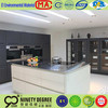 Customer tailored welcome design kitchen cabinet high gloss uv paint