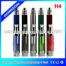 Rebuildable atomizer H4 vaporizer pen with removable mouthpiece