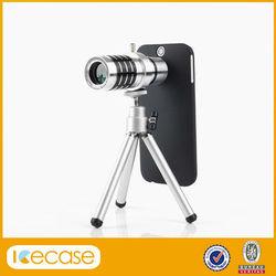 12X Zoom Telescope Phone Camera Lens Kit Tripod Case For Samsung Galaxy S4 i9500