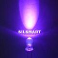 3mm ronda led ultravioleta uv de la lámpara led diodo