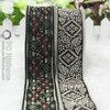 Novel woven jacquard ribbon for clothing
