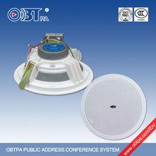 OBT-605 Public Address PA Hotel Ceiling Speaker,Hotel Ceiling Loudspeaker,Smart sound at Cheap Price