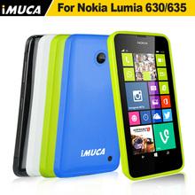 apple green tpu soft case for nokia lumia 630 back cover