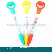 Anniversary Custom Logo Ball Pen/Advertisement As Gift Ballpoint Pen/Massage Banner Pen