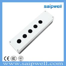 SAIP/SAIPWELL 180*80*70 Five Ways IP65 Waterproof ABS Electrical Indicator Light Box China Enclosure