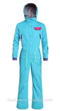 Waterproof ashionable snow suit women