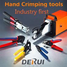 Derui tools crimping plier cutting RHT series