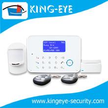 Dual network, smart home burglar DIY intelligent voice prompt security alarm system