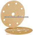 Lixar disco de papel com velcro de apoio