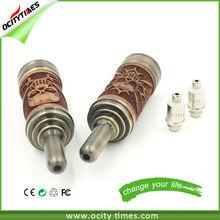 New arrival dual coil wooden design electronic cigarette n-fire la2 atomizer n fire vaporizer pen