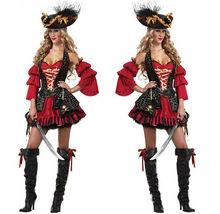Pirate Sexy Costume Adult Circus Ring Master Womens Medium Halloween