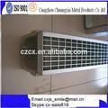 grille en acier inoxydable de type u de drainage en béton puits en béton