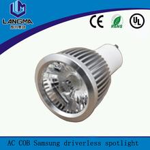 aluminum housing 60 desree beam angle 6w led light mini spot