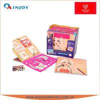 custom design diy drawing vinyl toys for children