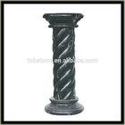 Spiral stone column