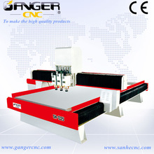 New design Gangercnc china cnc route for wood for wood furniture ,wooden crafts processing industry SH-1325Q3 Air-Cylinder type
