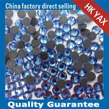 D0722 LT.sapphireAB china hotfix DMC rhinestones supplier;2014 china hot fix rhinestones DMC exporter ;DMC rhinestones hotfix