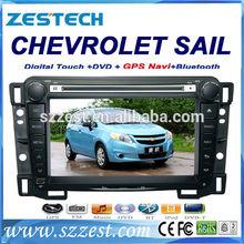 ZESTECH 2 din touch screen gps oem car audio player for Chevrolet Sail gps navigation