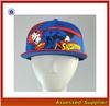 HX375/superman cap custom hats/superman snapback hat wholesale/cheap flat caps