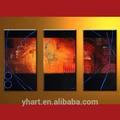 Atacado colorida abstrata grupo arte da parede, design moderno bela pintura de parede