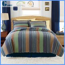 Wholesale Woven 100% cotton plain butterflies patchwork quilt