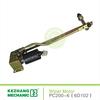 PC200-6 6D102 wiper motor gear