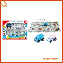 2014 New Electronic Puzzle Vehicle set toys plastic vehicle train puzzle play set BC9902600-4