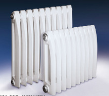 Pioneer patent cast iron home radiator for hot water heating