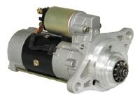 Replacement of Isuzu starter motor 24v for SH350-5