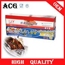 household kitchen lining cookie sheet food alumninum foil heavy duty foil