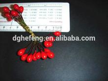 Simulation Artificial Plastic Mini Christmas Decorative Ilex Berry branches