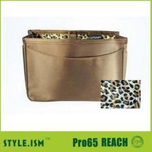 Satin material beautiful cosmetic bag