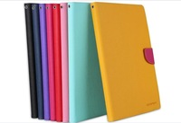 mercury goospery fancy diary leather case,pouch wallet case for LG G Pad 8.3 V500