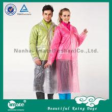 Most popular pvc raincoat suit for bad rain day