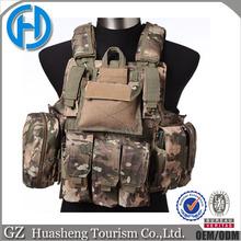 Heavy duty military quick tactical detachable vest