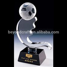 new design crystal football ,crystal sports awards