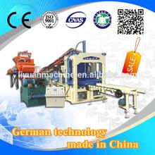 QT4-15 Prestressed Concrete Slab Molding Machine block machine