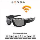 New! Wireless 1080p video camera glasses support stream live video