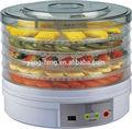 ed770a 5 bandejas redondas eléctrica deshidratador de alimentos