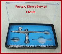 makeup airbrush kit nail gun tattoo machine pen Air brush for cake painting art etc . made in China