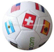 World wide flag printing balls