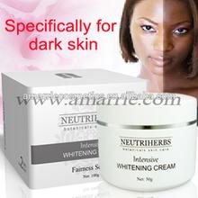 OEM/ODM Skin Care mens face whitening cream