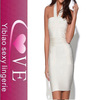 Top quality sexy party dress,new dress, with sleeveless bandage dress