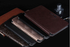 Standable wallet flip book leather case for ipad mini case with card slots