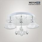 led light fixtures luxury chandelier ceiling lamp white cotton gloves light